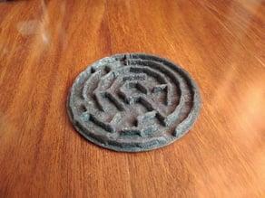 Rock theta maze
