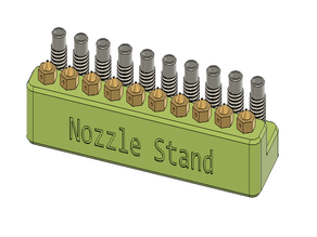 Nozzle and Heatbreak Stand
