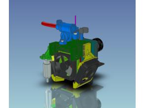Cartesian mount system for the Nimble Flex.