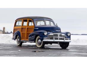 Chevrolet Fleetmaster Station Wagon Woody 1948