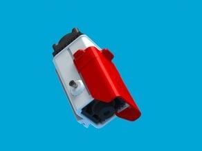 3dpBurner2 Laser holder for 33x33mm modules