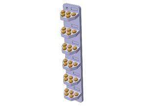 NOZZLE RACK FOR 2040 PROFILE - 30 slots