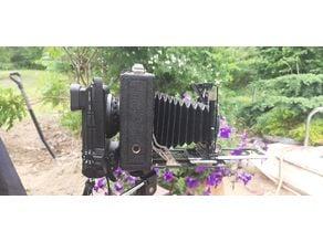 SONY E-mount to 9*6,5cm plate camera adaptor