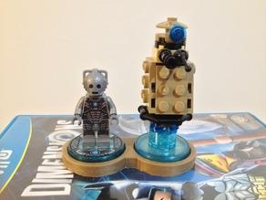 Lego Dimensions Tag Holders/Displays