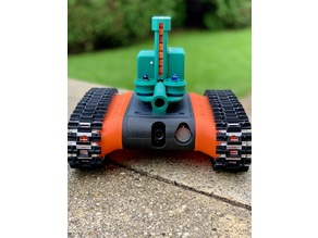 Nerf Dart Launcher for the FPV-Rover