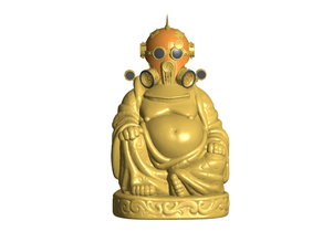 Steampunk Buddha