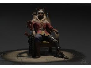 Sir Steak, Count of the Desert - Tabletop Miniature