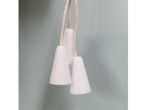 Simple Cone Shaped Tassel for blinds
