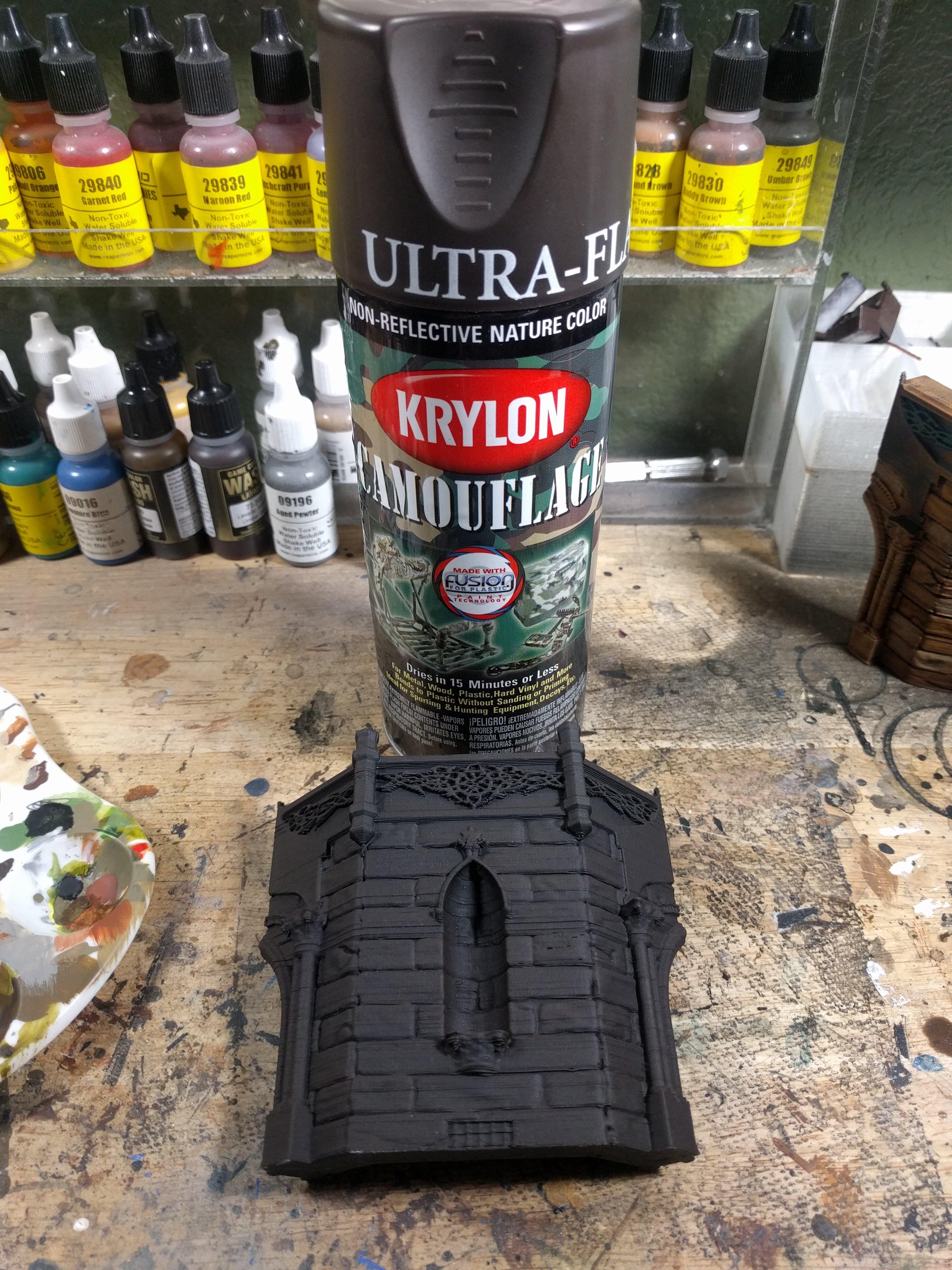 Krylon Ultra Flat Black Paint