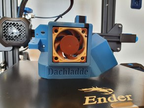 Satsana Remix for Ender 3V2 and Ender 3 with BLTouch / 2 x 4020 Noctua
