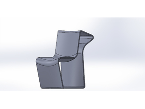 3D chair, 3 positions for 3 dimensions