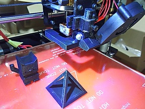 Fan Duct For GEEETECH 3D printer Prusa I3 Pro B