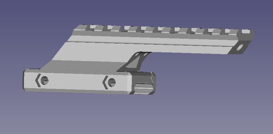Airsoft Rail Riser