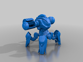 borderlands - Behemoth Prototype - sentry drone