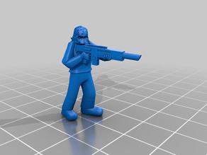 Hosytian Guardsman, High Ready