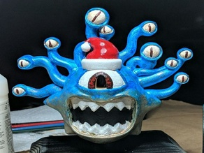 Santanathar Beholder Tree Topper With Hat
