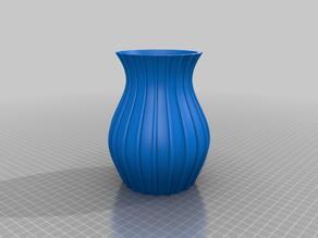 Vase bauchig