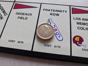 Plankton Monopoly token