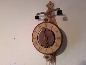 3d-gedruckte Frühgotische Uhr / 3d printed Early gothic clock
