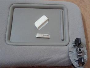 Toyota Camry Sun Visor Plastic Tab Replacement