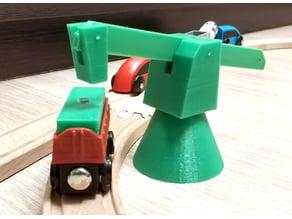Ikea train crane