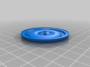 BTTF Time machine (1:8) Delorean Spare Wheel (Cap)