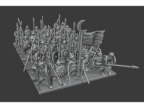 Warmaster Araby Spearmen