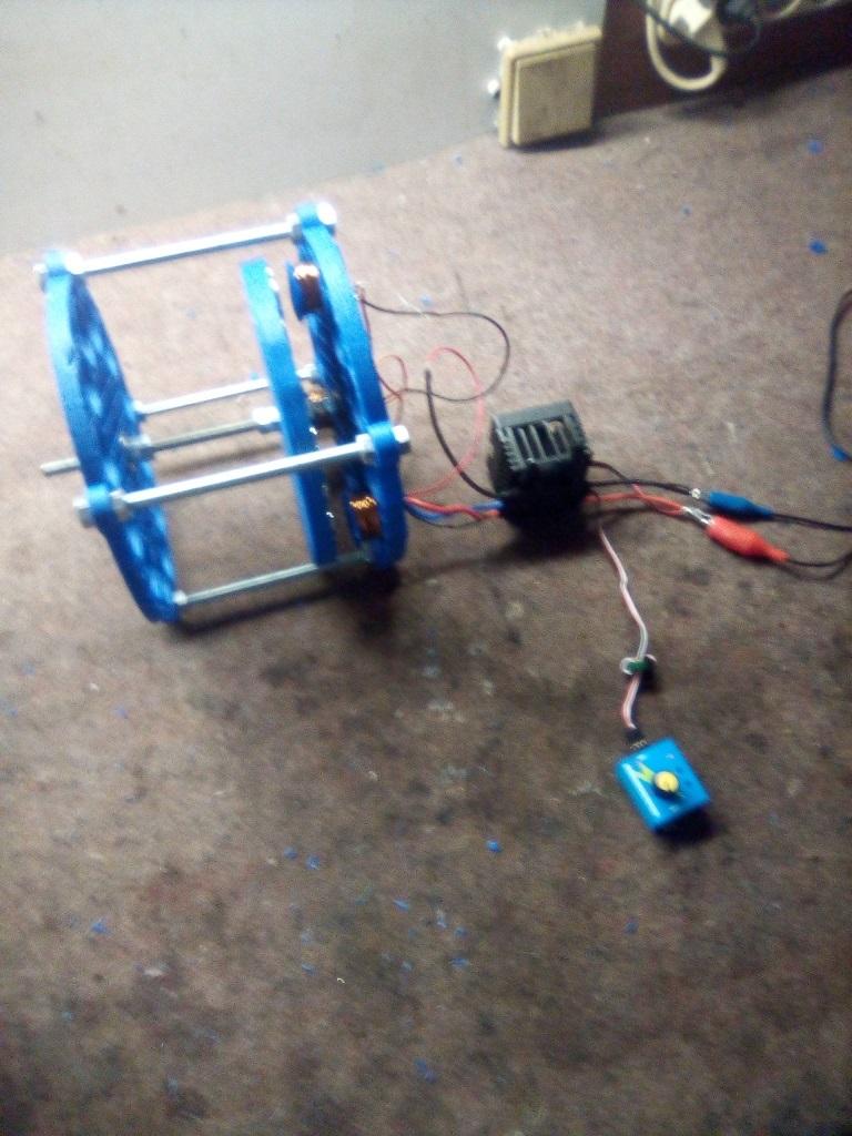 free energy - magnetic motor Preisner