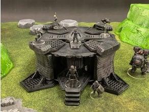 Spoolstruct: Subterranean Complex Entrance