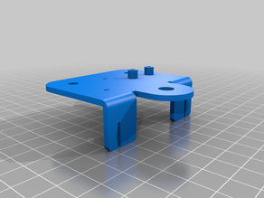 CR-10S Extruder Support Plate