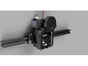 Ender3/CR10 direct drive / Banta mount remix (stock extruder).