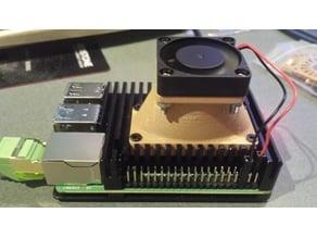 Dual 25mm fans to 1 30mm or 40mm fan adapter