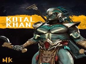Mortal Kombat 11 Kotal Kahn Macuahuitl
