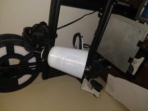 Lamp Shade for 3D printed articulating LED lamp