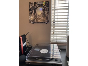 Vinyl Record Wall Mount (Now Playing)