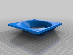 Custom CPU Cooler Air Funnel