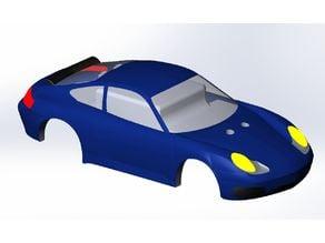 RC Car Porsche shell body