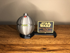 Thermal Detonator Display Stand