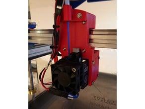 FT-5 R4 Mod 06 - Printer Head Carriage Mount E3D Hemera + BLTouch