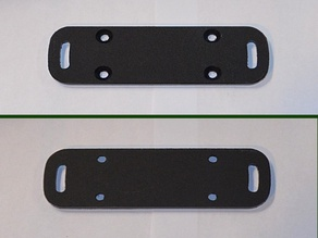 Adjustable Scotty Rod Holder Plate for Track mounts