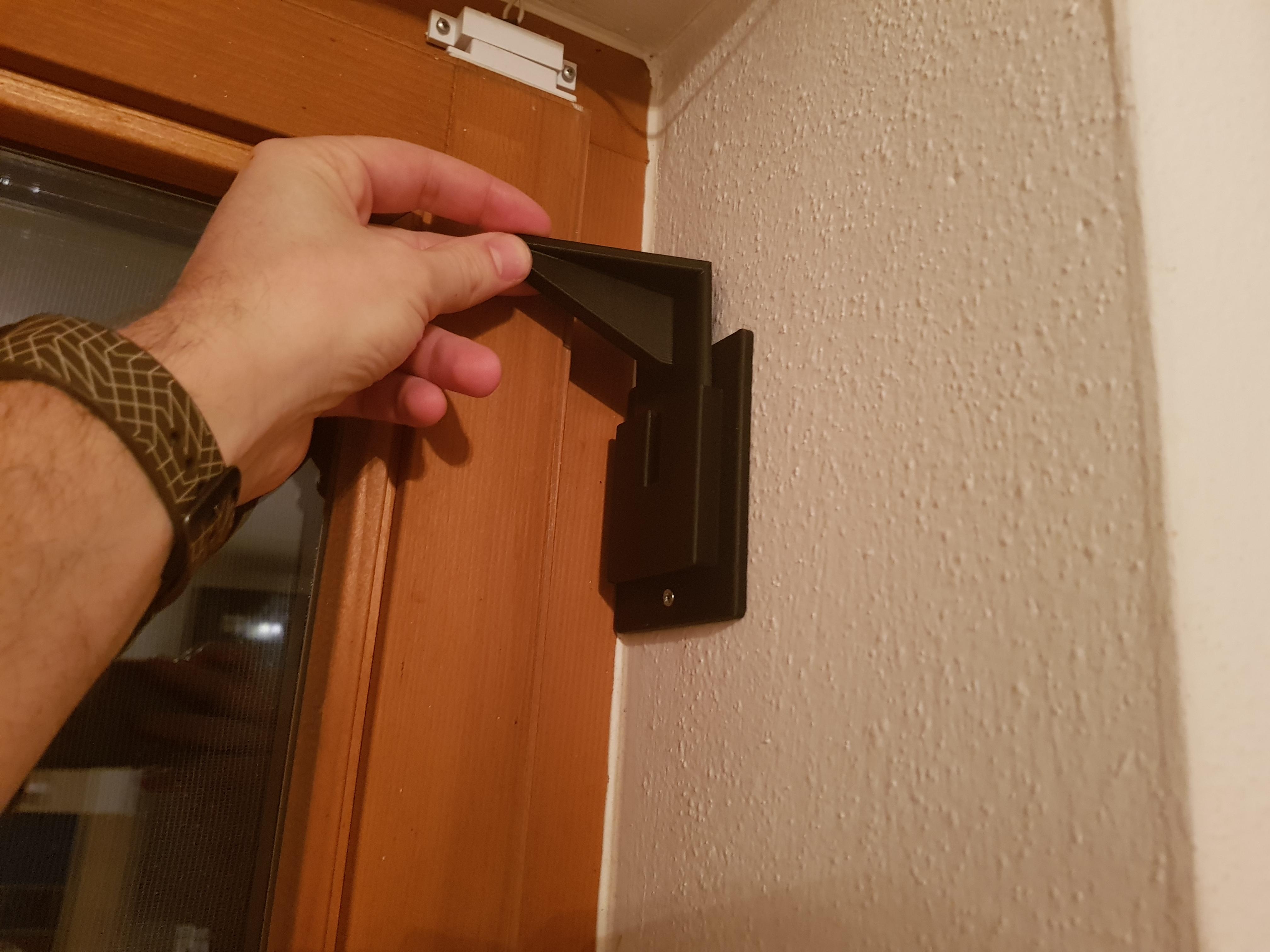 removable window hook