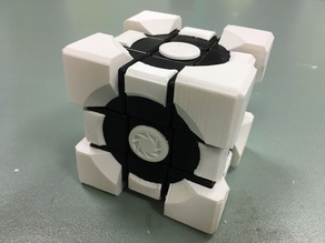 Rubik's Portal Weighted Companion Cube