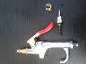 Pneumatic blow gun replacement