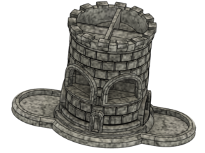 Double Dice Tower