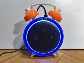 Amazon Echo dot 3rd gen.  Alarm clock style