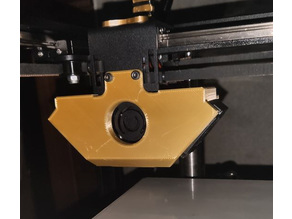 Stabilizer for Hotend (carriage) 2 versions - Two Trees Sapphire 3D printer