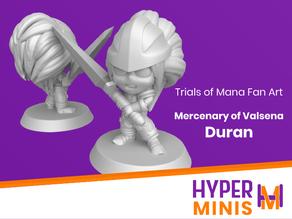 Duran | Trials of Mana (Seiken Densetsu)