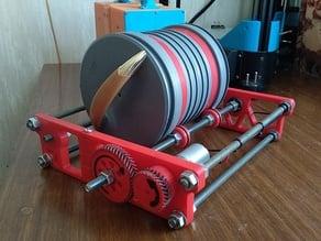 Rock Tumbler for motor JGA25-370