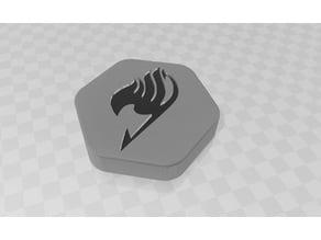 7 Dice Box D&d - Fairy Tail Logo