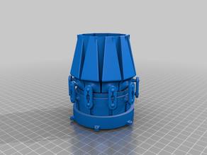 Variable-area EDF nozzle (50mm version)
